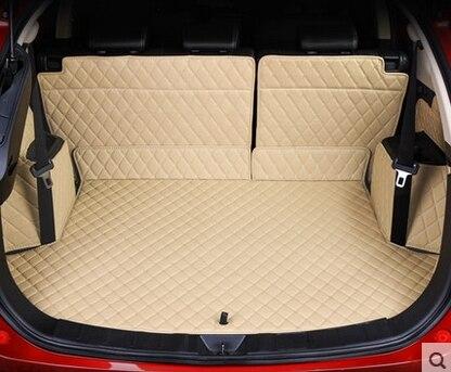 Personnalisé complet couvert tapis voiture du tronc pour Mitsubishi Outlander 5 sièges étanche boot tapis cargo liner tapis