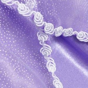 Image 4 - MUABABY Disfraz de princesa de 5 capas para niña, traje Floral para fiesta de Halloween