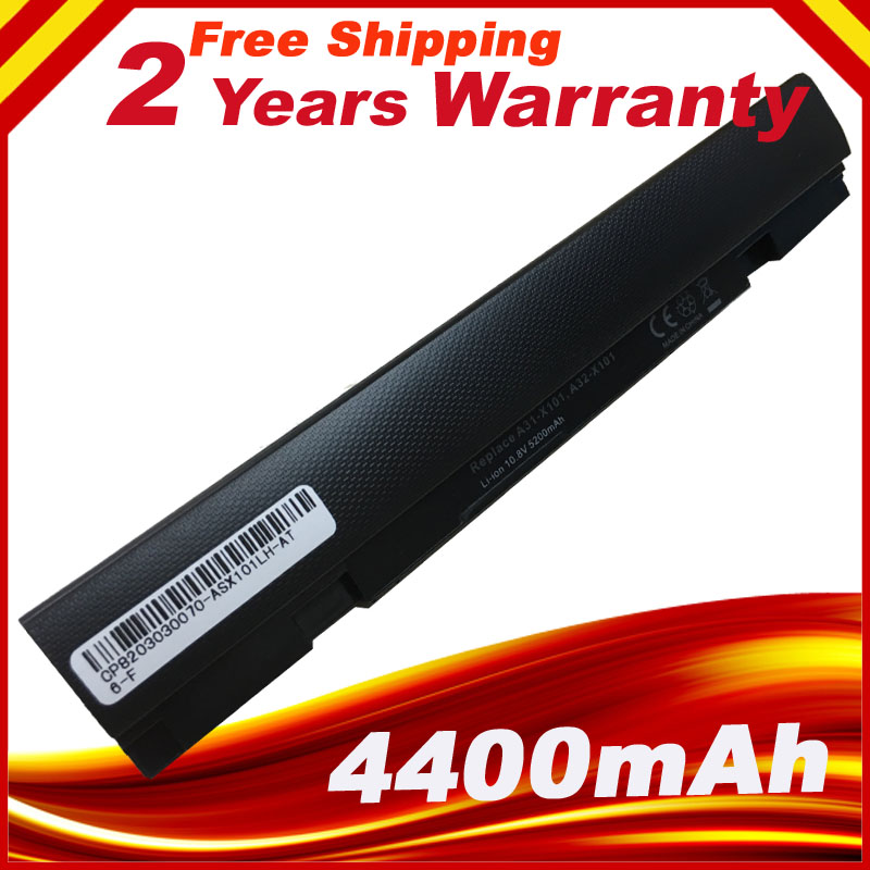 New 10.8V 6 CELL Laptop Battery A31-X101 A32-X101 For ASUS Eee PC X101 X101C X101CH X101H Series 5200mAh