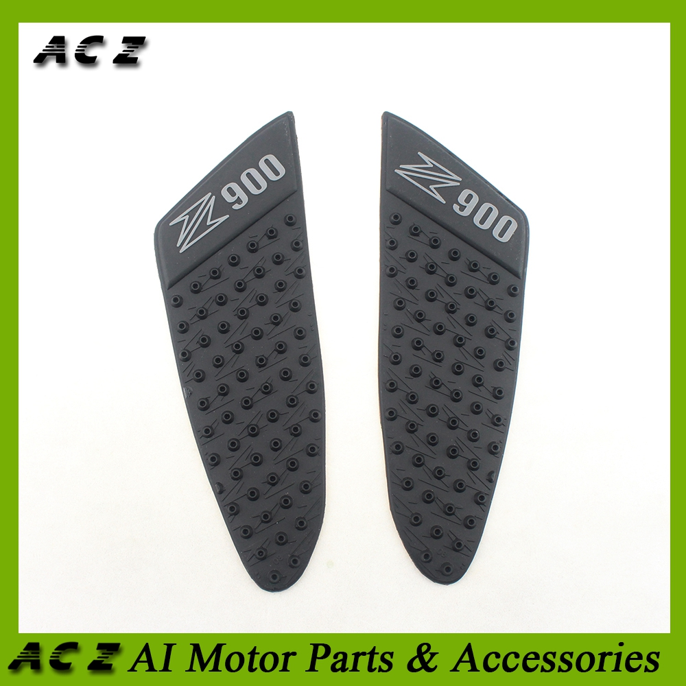 Decals & Stickers Orderly Acz Motorcycle Black Tank Traction Pad Side Gas Knee Grip Protector Pad Anti Slip Protective Sticker For Kawasaki Z900 Z 900 Ample Supply And Prompt Delivery Motorcycle Accessories & Parts
