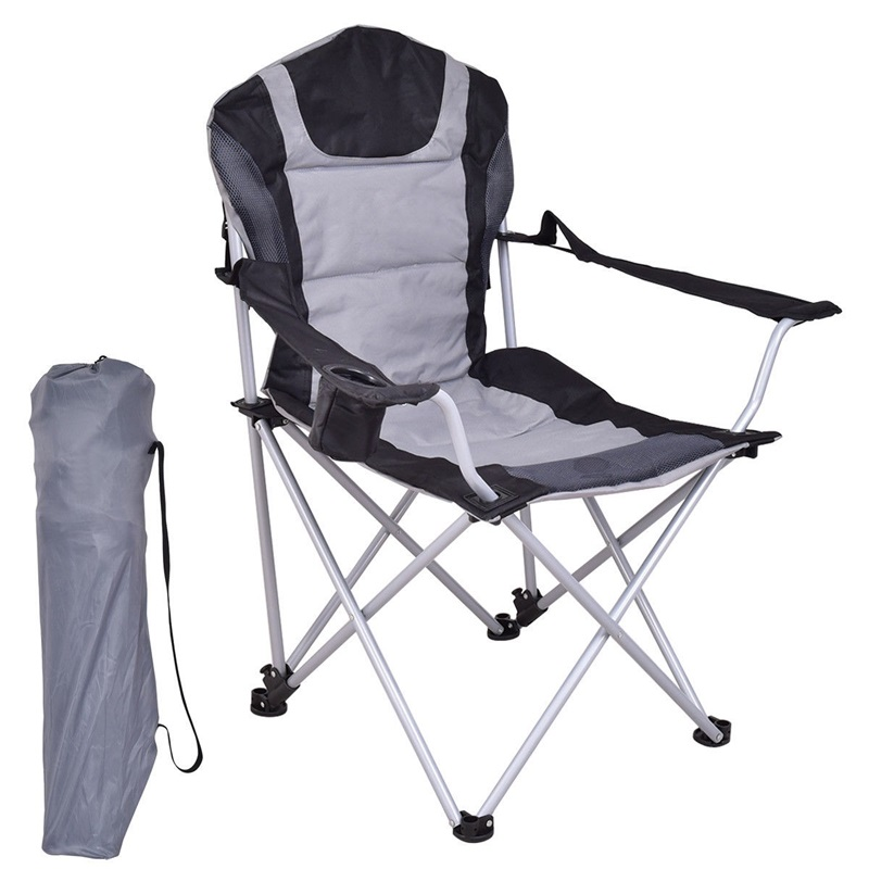 Portable Fishing Camping Chair W/ Cup Holder High Quality Outdoor Folding Chair OP3369