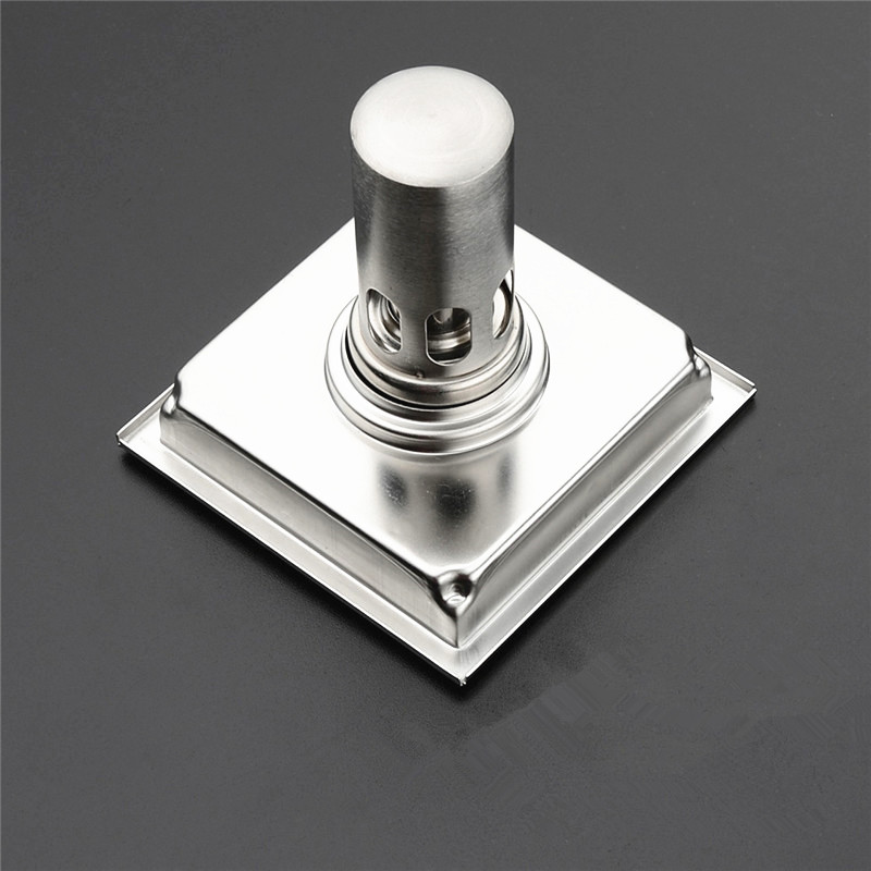 Balcony Sewer Square 304 Stainless Steel Insect Proof Deodorant Floor Drain Bathroom Shower Anti Blocked J18155 In Drains From Home Improvement