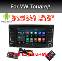 1024X600 Android 5.1.1 Quad Core Car DVD GPS Radio for Volkswagen VW Touareg T5 Transporter Multivan 2004-2011 3G Stereo system