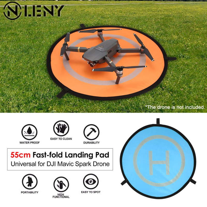 55 cm plegable rápido Universal FPV Drone Parking delantal plegable para DJI chispa Mavic Pro FPV racing Drone accesorio