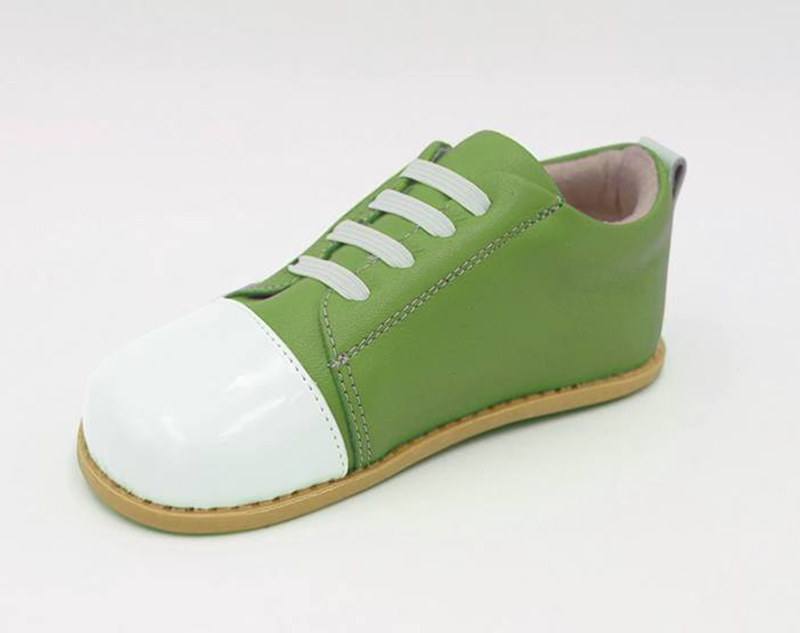 Leather Shoes Boys Tipsietoes Brand High Quality Genuine Leather Stitching Kids Children Shoes Barefoot For Boys 2019 Spring New Arrival Pure Whiteness