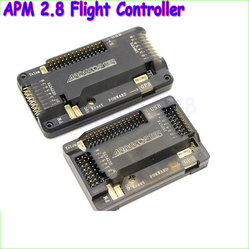1pcs APM2.8 APM 2.8 Flight Controller Board side pin / straight pin For RC Multicopter ARDUPILOT MEGAWholesale Dropship minimosd on screen display osd board apm telemetry to apm 1 and apm 2