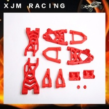 New product High strength nylon front & rear arm set fit 1/5 rc car hpi rovan km baja 5b parts