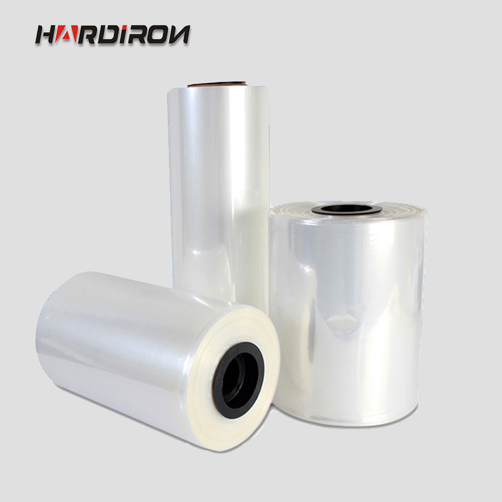 HARDIRON POF thermorétractable sacs Membrane transparente en plastique cosmétique emballage sac en plastique rétractable poche matériel haute transparence