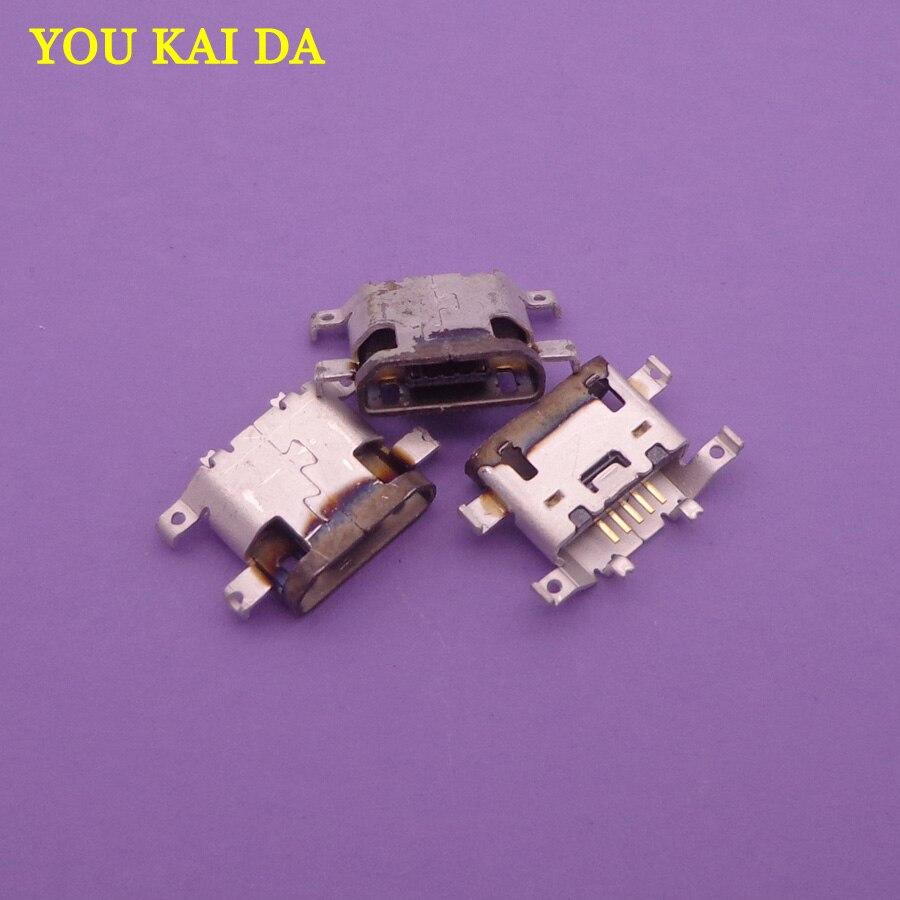 50pcs Micro usb Charging Port Dock connector for Motorola Moto g4 G4 XT1625 XT1621 mini usb jack