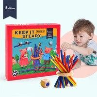 Mideer stabiel Een Familie Behendigheidsspel en Behendigheid voor Leeftijden 6 + Educatief Stok Puzzel Speelgoed voor Kinderen Kids Gift
