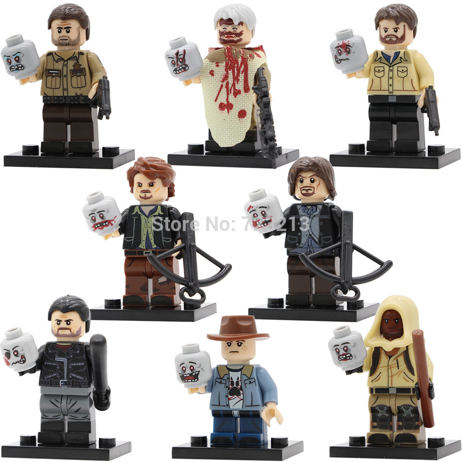 Walking dead lego daryl the walking - Walking Dead Lego Figures