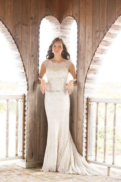 New Fashion Mexican Wedding Dresses Top Lace 2015 Abiti Da Sposa ...