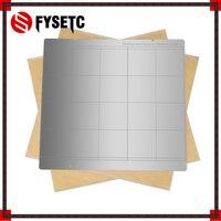 Reprap i3 Mk3 Mk52 Spring Steel Sheet Heat Bed Platform 3D Printer Printing Buildplate + 2pcs PEI Sheet For Prusa i3 Mk3 Mk2.5