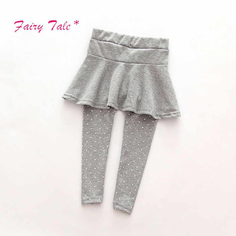facb13859 2018 polainas de bebé niña falda-Pantalones pastel bebé niña invierno  polainas calientes falda de las niñas pantalón corte de arranque para ...