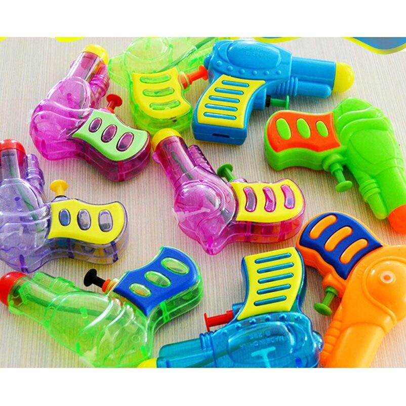 10 Cm Mini Kinder Wasser Pistole Spielzeug Kinder Kunststoff Outdoor Sommer Strand Schwimmen Pool Spritzen Wasser Spiel Spielzeug Handy Straps