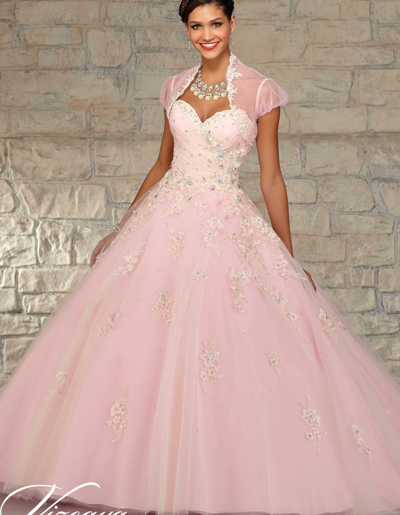 2018 Cheap Quinceanera Gowns Debutante Sweet 16 Princess Champagne ...