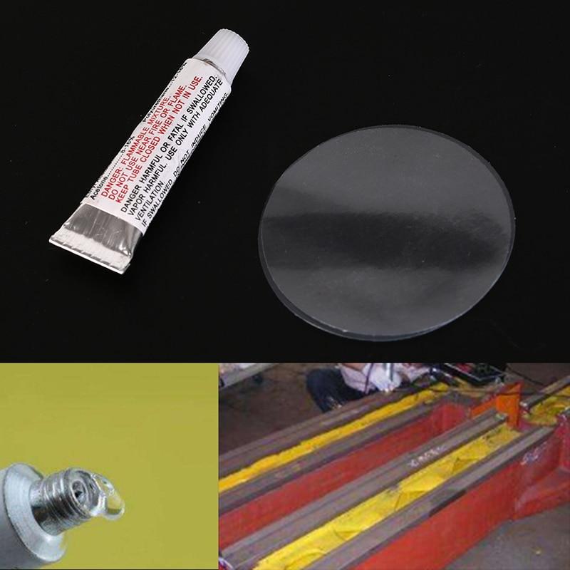 Горячая 1 компл. (1 xglue + 2 xpatches/комплект) плавание ПВХ Клей Надувные ремонт клей трубки патч Boat йога мяч