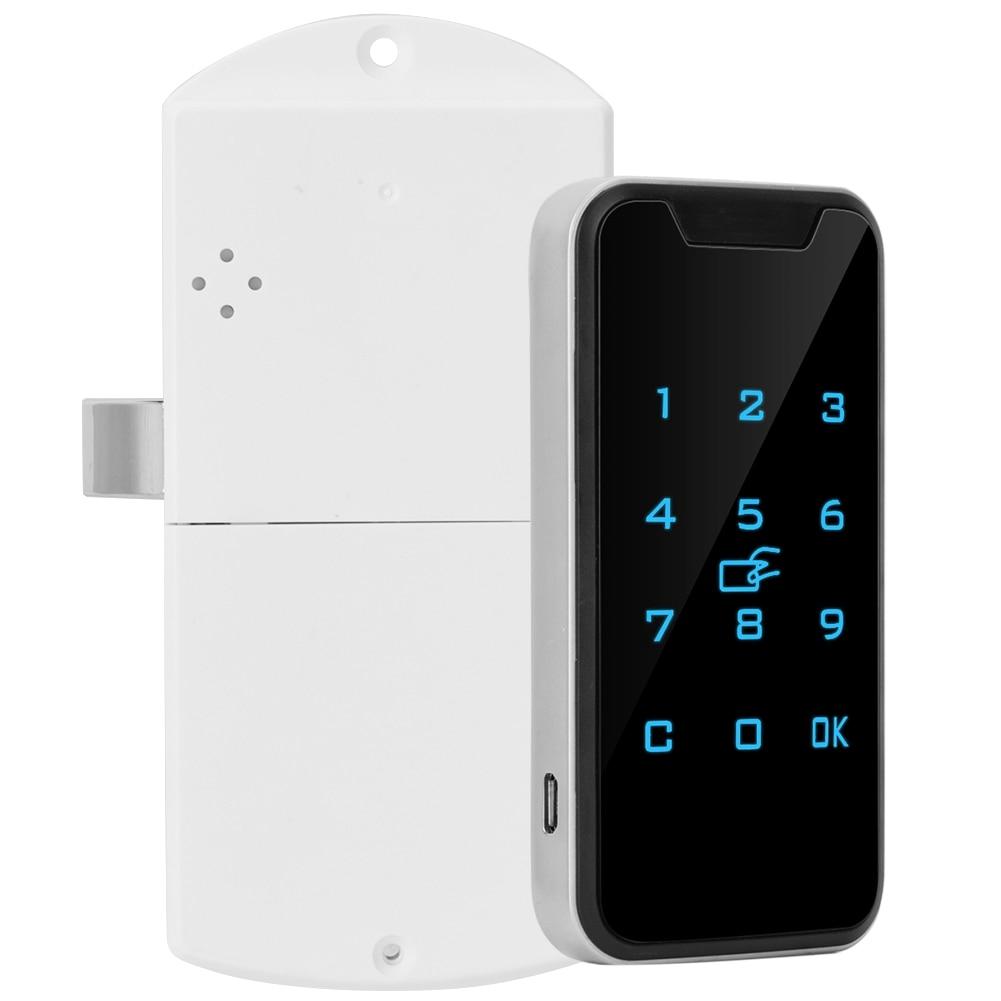 HTB14.OGSbvpK1RjSZFqq6AXUVXam SOONHUA High Quality Zinc Alloy Smart Digital RFID Password Lock Touch Keypad Electronic Wardrobe File Cabinet Lock
