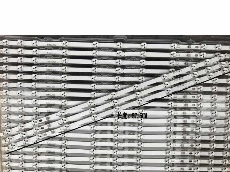 """2 uds 32 pulgadas de retroiluminación LED para LG Sharp 32 """"TV 32D1334DB LC32LD145K VES315WNDL-01 VES315WNDS-2D-R02 HA5000 VESTEL 575mm"""