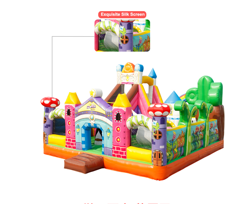 HTB14.OKbrsTMeJjSszhq6AGCFXar - You-Toys Huge Commercial Bouncy Inflatable Castle House Magic Garden Bounce House Kids Playground