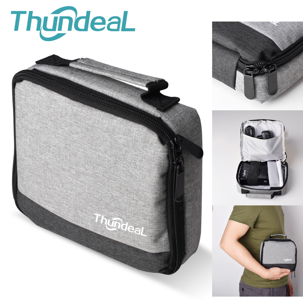 Thundeal DLP Projector Hard-Carrying-Case Travel-Carry Portable Protective Max Mini T18