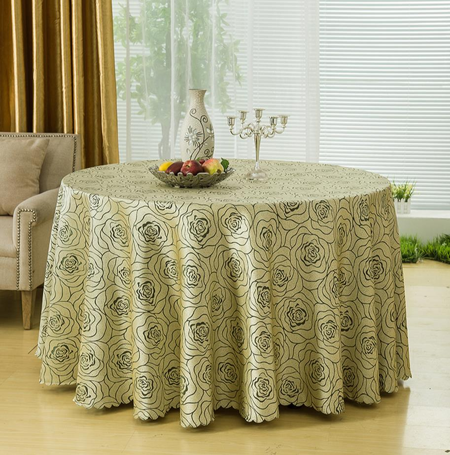 Hotel round table cloth tablecloth restaurant hotel meeting a square table cloth covers household cloth