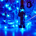 10 m 38 Led String Fada Da Borboleta 3D luzes luces navidad Guirlande Lumineuse LED das Luzes de Natal Ao Ar Livre Da Lâmpada de Casamento