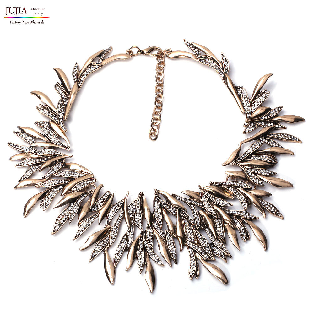 Good quality NEW Z fashion Necklaces & Pendants statement choker Necklaces for women maxi necklace
