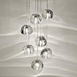 Postmodernistyczna schody długi kryształ szklany żyrandol Nordic luksusowe proste kreatywny salon oświetlenie jadalni