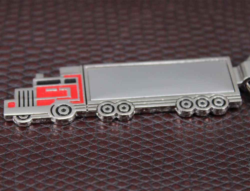 Venda quente caminhão pingente chaveiro mini caminhão modelo carro chaveiro saco criativo charme acessórios metal chaveiro presente jóias k1733