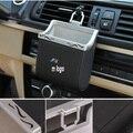 Натуральная Кожа Автомобиль вентиляционные отверстия для хранения наклейка для BMW E36 E46 E60 E90 F30 F20 F10 F18 X3 5 6
