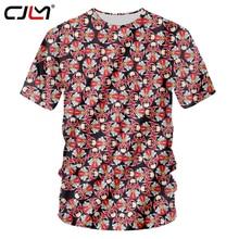 f0539880f4c5 CJLM Retro Style Men Tshirts 3D Full Print Beijing Opera T Shirt Casual Short  Sleeve
