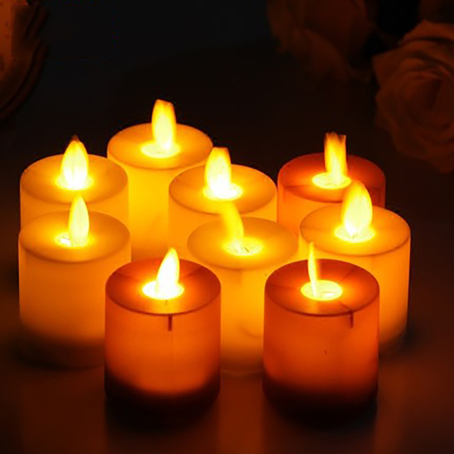 Electronic Candle Lamp Wedding Decoration Bougies Anniversaire Wax