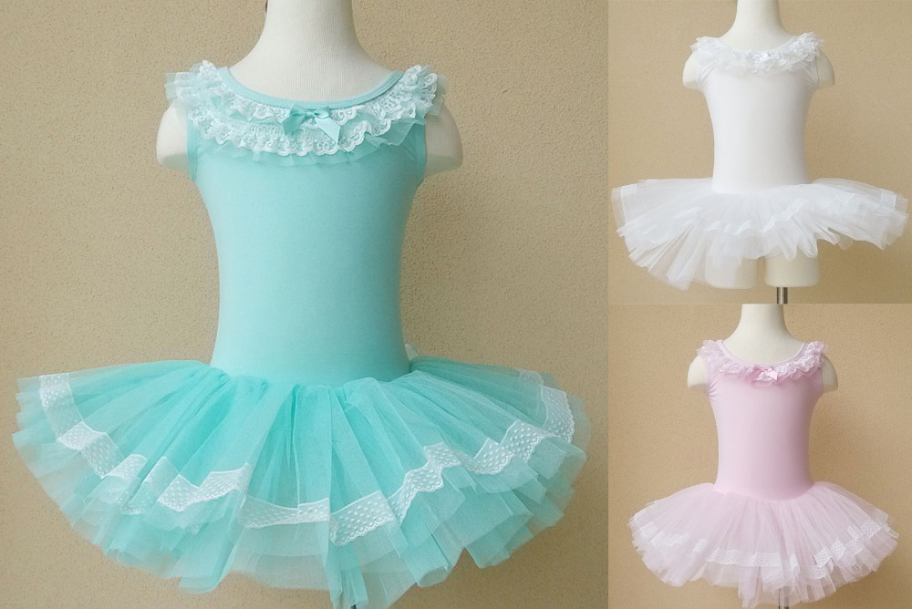 Kids Girls Ballet Dance Dress Children Sleeveless Leotard