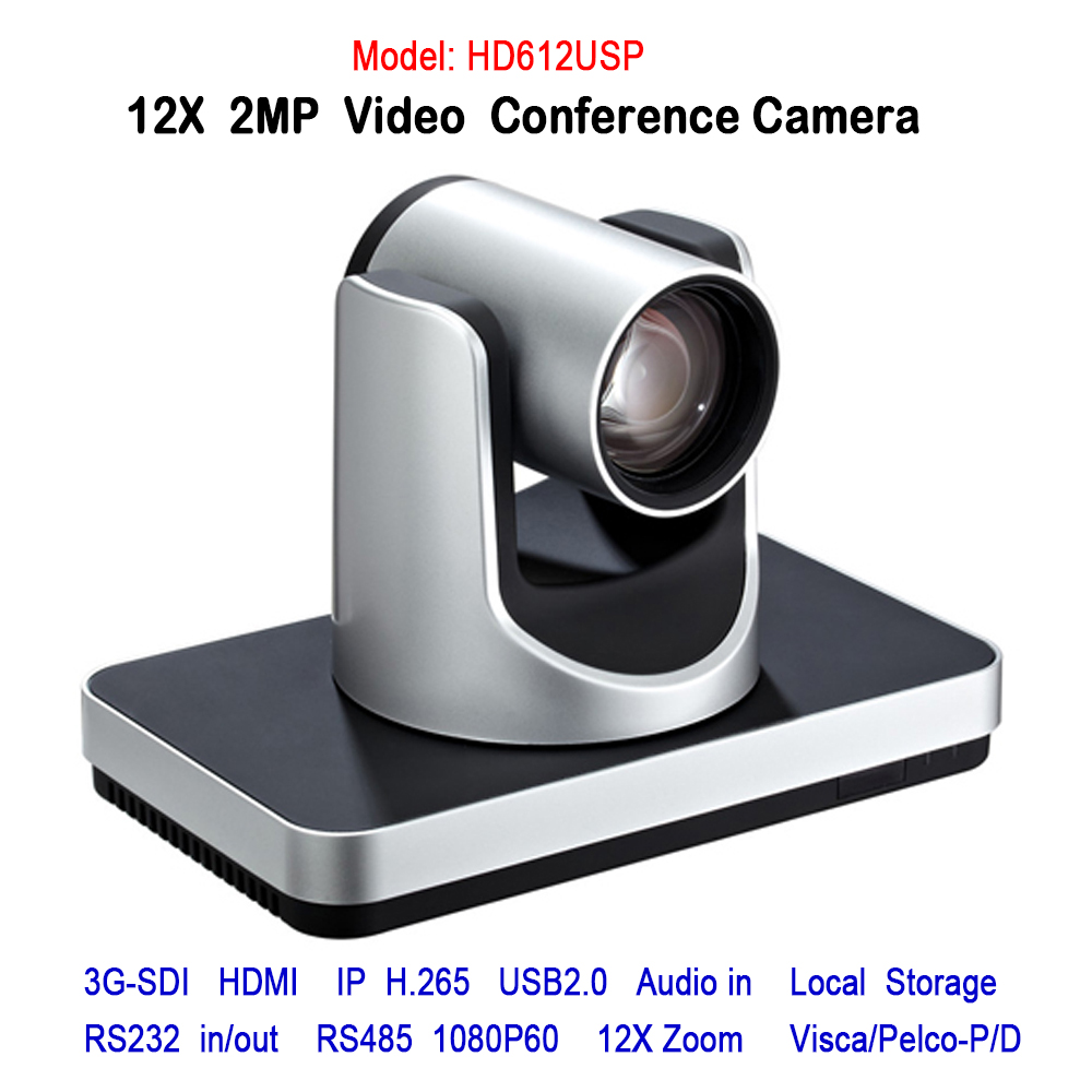 2018 H.265 12x Zoom Wide angle View 2Mp 1080p Video Audio IP HDMI 3G-SDI PTZ Conference Camera With RS232 RS485 Communication ikecix u12x 2m 12x zoom usb 1080p video conference camera microphone