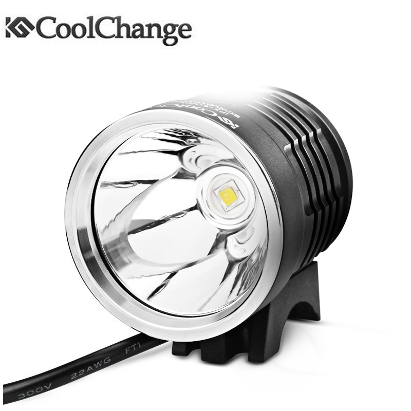 Bike Front Head Light Cycling Bicycle LED Lamp Outdoor Riding Aluminium
