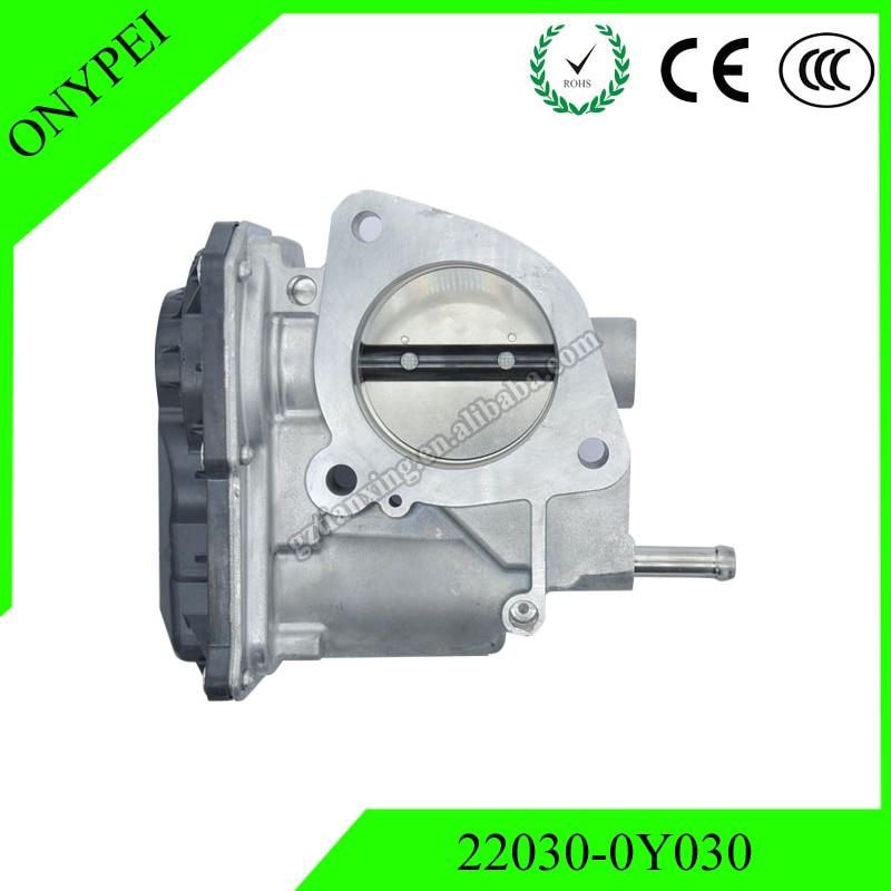 22030 0Y030 High quality Throttle Body For Toyota Vois NSP150 4NRFE NSP151 5NRFE 22030 0Y030 220300Y030