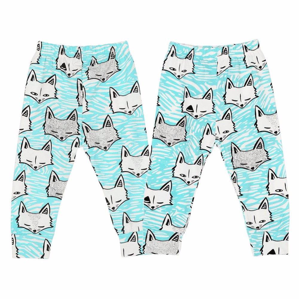 Baby Boys And Girls Animal Pattern Pants