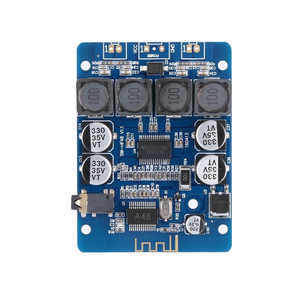 Ultra Small Digital Power Amplifier Board Tpa3118 Digital Amplifier 2X30W Stereo Modified Speaker Hf48
