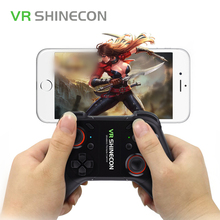 VR SHINECON SC-C08 Bluetooth VR Glasses Gamepad Wireless Handle Controller For 3D VR Glasses PC Android IOS Smartphone TV Window