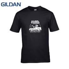 0d054585 GILDAN cotton Camel Towing Mens 5050 Causal funny t-Shirt 3xl round Neck t  Shirt Tee