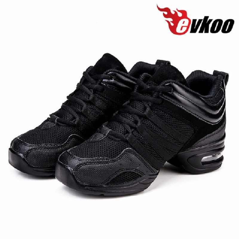 Women Jazz Dance Sneakers Hip Hop Black