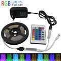 5 m SMD 2835/3825 LED Luz Flexible Tira DEL RGB LED DC12V llevó la cinta NO Impermeable o Impermeable RGB LED luz
