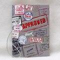 Creative multi-funcional bolsa de documento personalizado pu y pvc cubierta de pasaporte, de Sostenedores de la IDENTIFICACIÓN Tarjeta de visita para los viajes