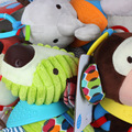 0+ month skkbaby Baby Rattles mobile Cute animal Multifunction appease Doll Baby Crib Stroller Toy Newborn Bed Hanging Soft Play