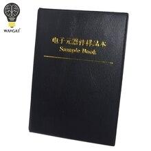 WAVGAT 170values X 50pcs=8500pcs 0805 1% 0R-10M ohm SMD Resistor Kit RC0805 FR-07 series Sample Book Sample Kit