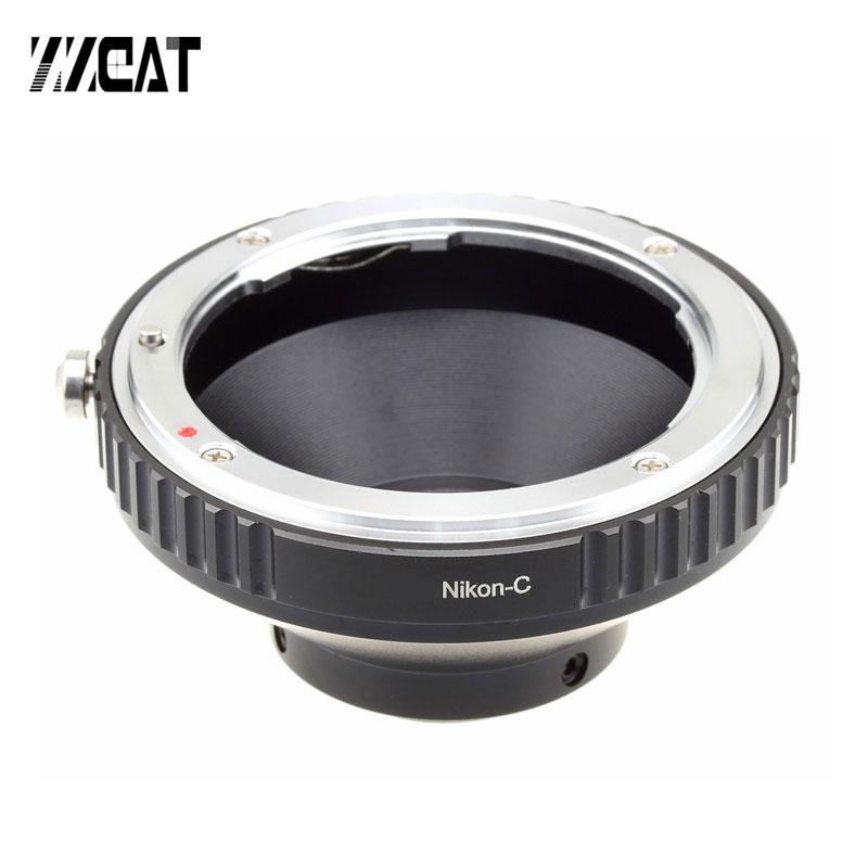 C-Canon C-Nikon Adaptador de Montagem C CS Montagem de Lente Adaptador de Transferência para Ligar Canon EOS EF Nikon F e C-mount Camera