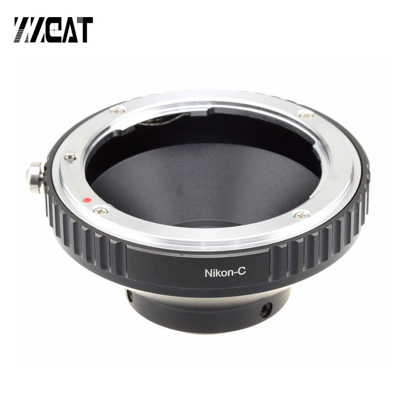 C-Canon C-Nikon C adaptador de montaje CS transferencia lente adaptador para conectar Canon EOS EF Nikon F y C-montaje de cámara