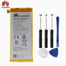цена HuaWei Original HB444199EBC+ Battery For Huawei Honor 4C G660-L075 G660 Genuine Replacement Phone Battery 2250mAh With Free Tool