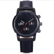 2018 простые кварцевые часы для мужчин Эксклюзивные Мужские часы бизнес Relogio Masculino Hodinky кожа кварцевые часы